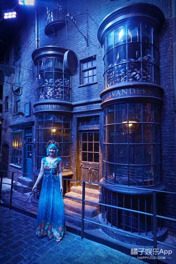 她在哈利波特魔法学院吃了顿圣诞大餐