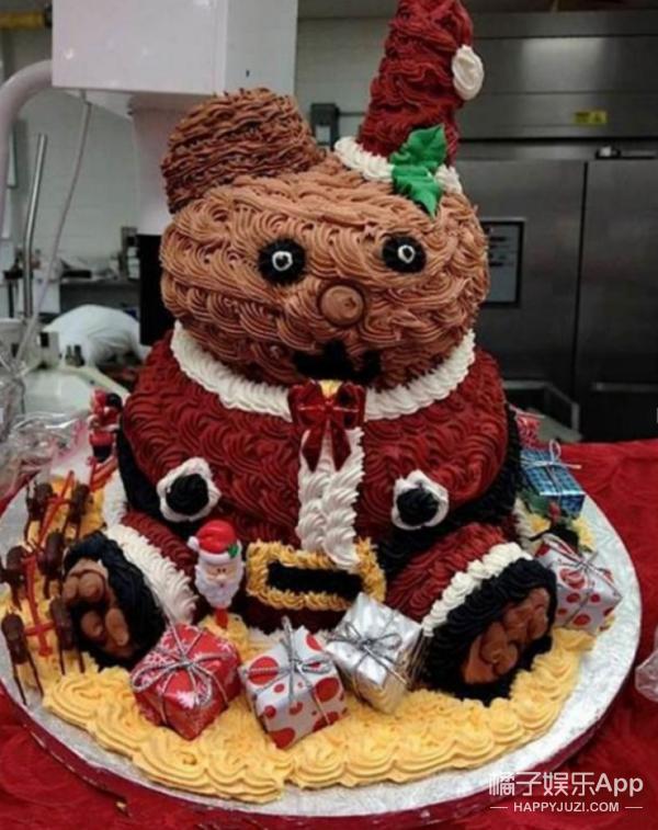 我一定是做错了什么,才会收到这样的蛋糕!
