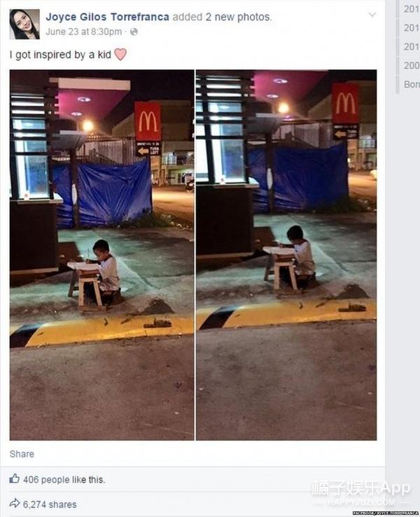 借麦当劳灯光读书的男孩,再度与改变自己人生的女孩相遇