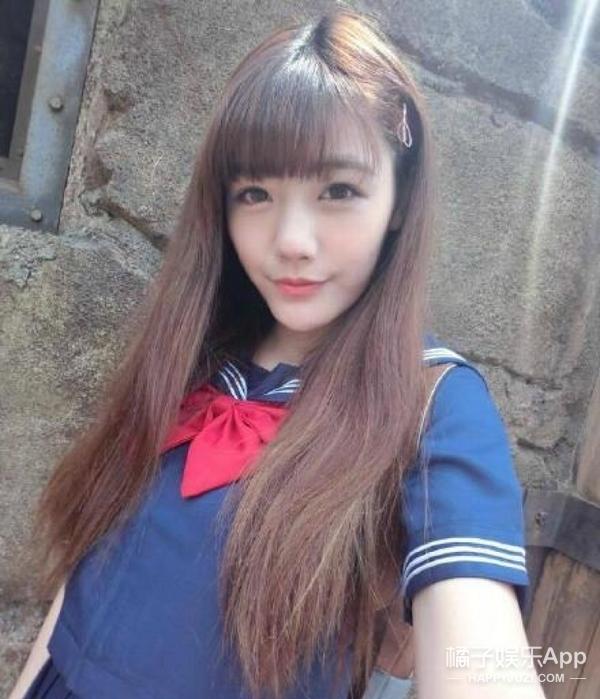 她是和袁惟仁传绯闻的大学校花,被称为G奶女神、曾火到日本