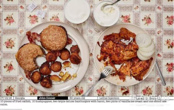 死囚们最后的晚餐吃什么?一个外国摄影师帮我们看了看