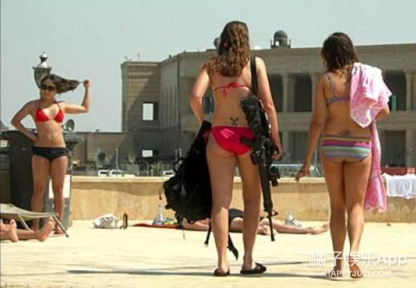 她们都不是超模,而是以色列女兵