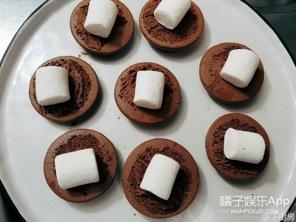 【鲜男料理】甜蜜地结束2016,棉花糖巧克力派