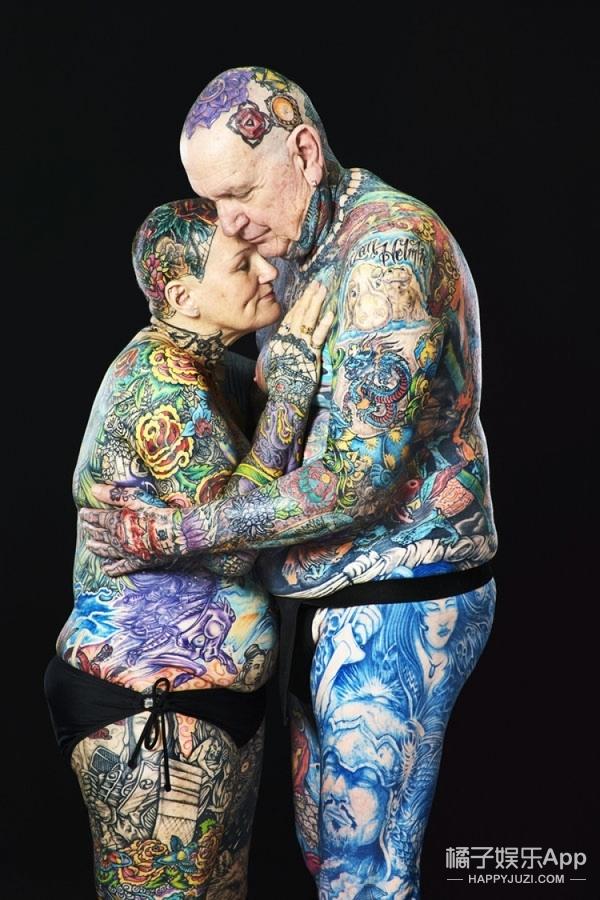 情侣纹身,我只服这对老CP