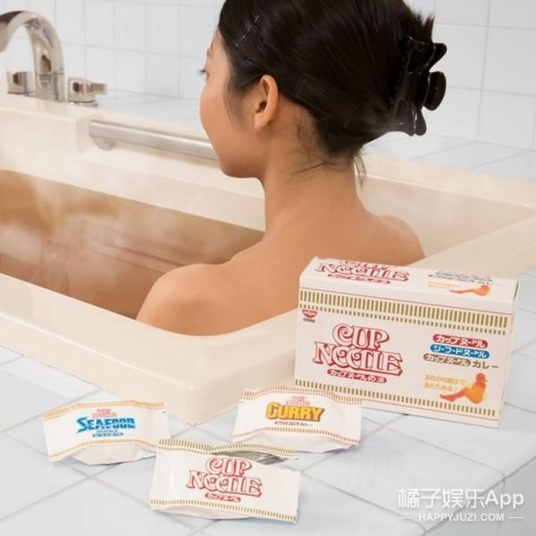 """听说""""合味道""""要推出拉面味的泡澡粉了?我代表我全家拒绝一下!"""