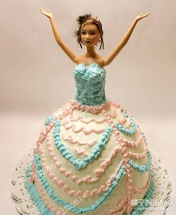 """原来那些""""芭比蛋糕""""中芭比的下半身长这样!都残了?"""