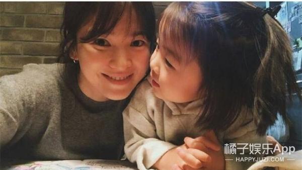 宋慧乔公开与侄女合照,这侧颜跟乔妹小时候好像!