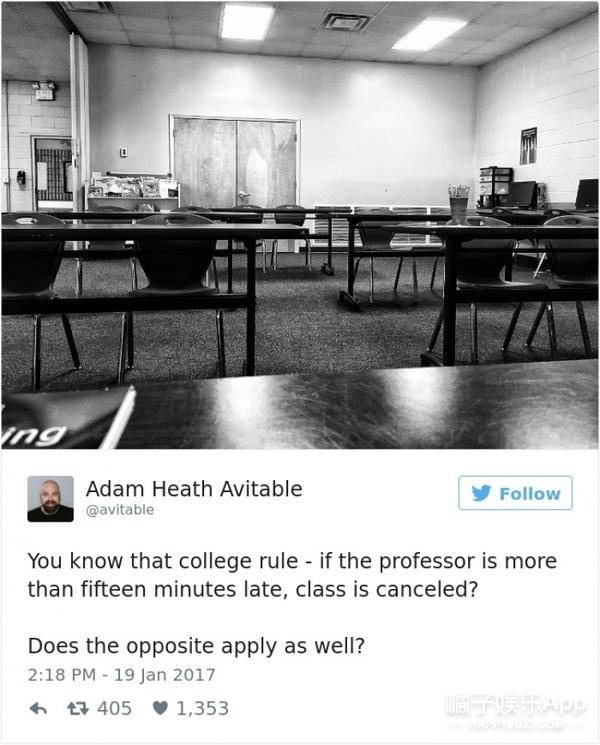 当学生都没来上自己的课,这位教授是这么做的