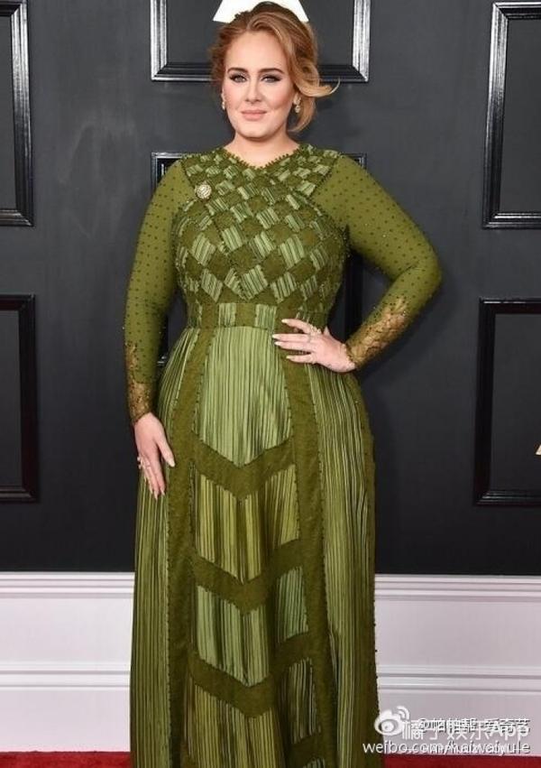 格莱美亲女儿!Adele拿下包括最佳专辑的5项大奖,厉害了我的呆!