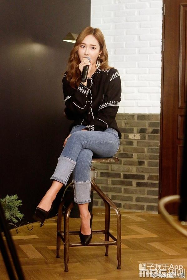 古力娜扎的裤子太短长还要接一截?其实现在这样最时髦!