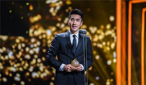 中国电视剧品质盛典,赵又廷获年度突出表演剧星