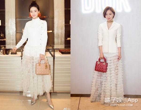 Dior的这条白裙成爆款,王丽坤、王珞丹同场活动演绎不同风格!