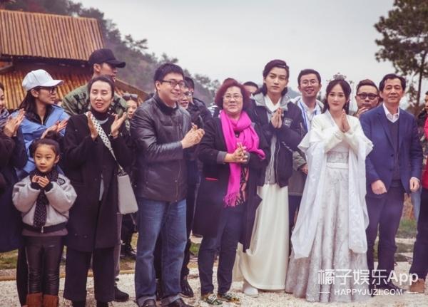 《独孤皇后》开机照曝光,陈乔恩陈晓的造型还真是仙啊!