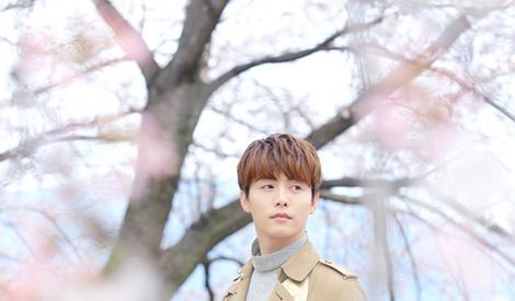 马天宇春日浪漫大片 那个樱花树下的男孩