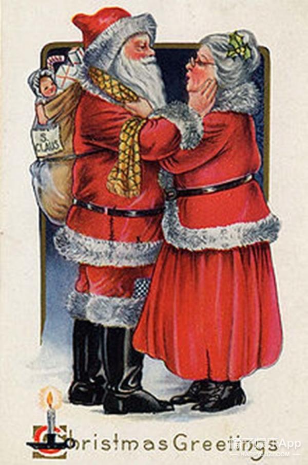 圣诞老人变成了黑人,他老公是个白人老头