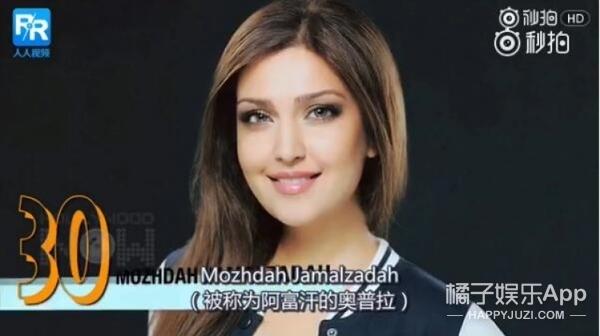 2017世界最美的30位女性,第一名竟然是她?!