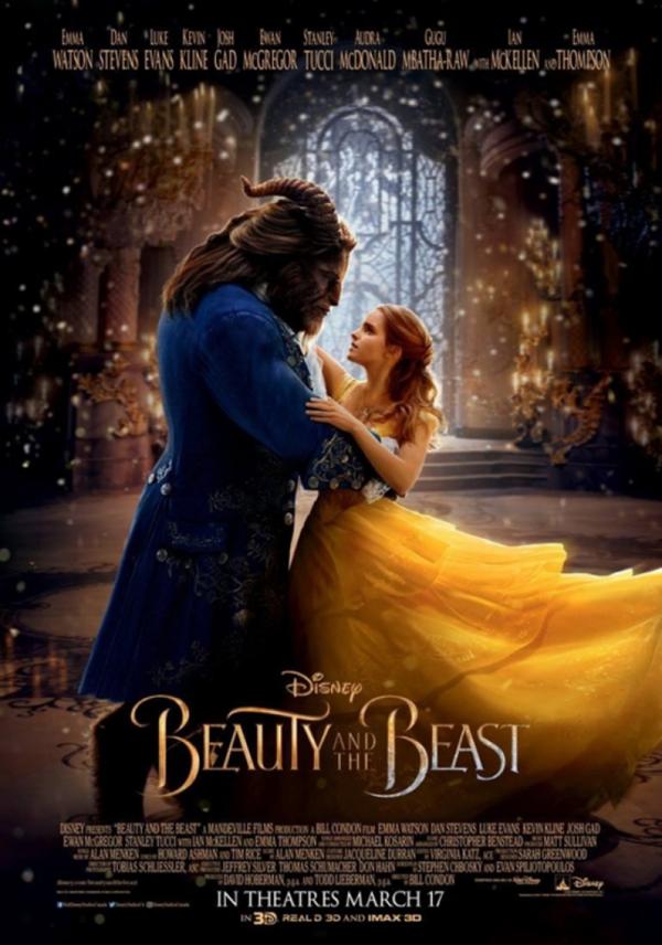 《美女与野兽》全球票房冲破10亿美元大关 成影史上第29部破10亿电影