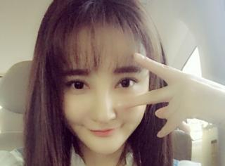 劉雨欣曬出清純少女風照片疑似變臉 怎么又是車內自拍?