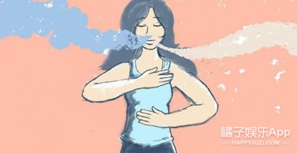 """不需要用力 """"瘦""""只要你学会正确的呼吸方式"""
