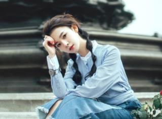 陈瑶拍摄百变春日写真,帅气森系复古样样养眼
