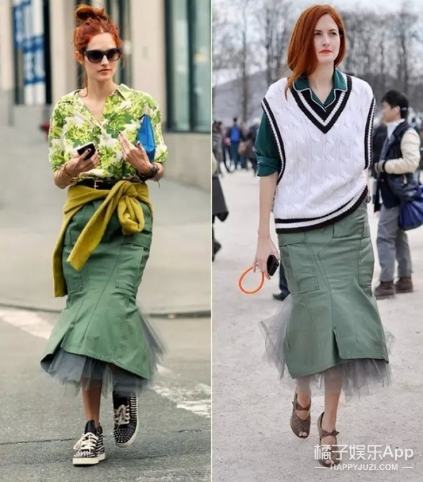 曾经的时尚女魔头裸辞开花店,重回时尚圈的她还是那么会穿!