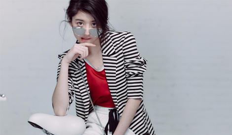 李凯馨时尚大片简直帅翻了