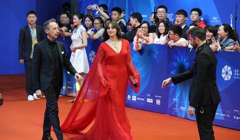 第七届北京电影节闭幕红毯:林志玲蒋雯丽华丽亮相