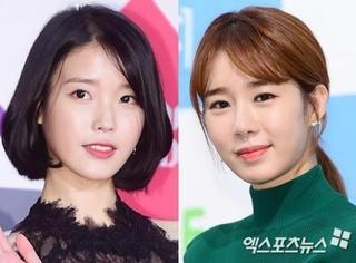 刘仁娜和IU共同被选为现代新车广告模特,两人默契满满
