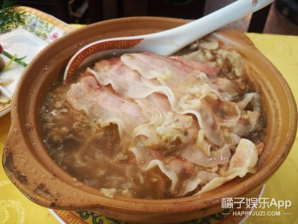 """粉嫩相间的五花肉,三百年的砂锅味道就这么""""惊(京)""""人!"""