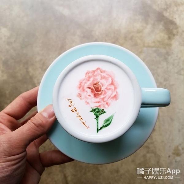 韩国barista在咖啡上作画,美炸了
