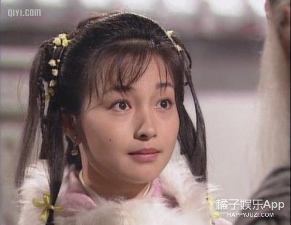 还记得《绝代双骄》里的小辣椒吗?她年轻的时候太美了吧!