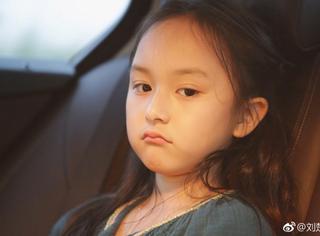 刘楚恬晒萌照,可是小芈月怎么就不开心了?