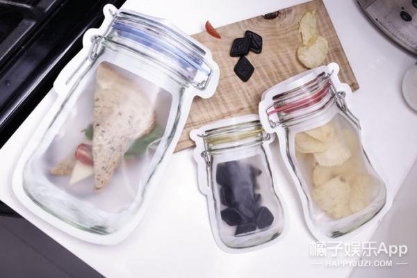 """""""罐子""""拉链袋的一百种趣味用法,扮饭盒装调料存面条样样都行"""