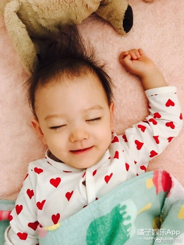 胖妹出生两个月之后,张梓琳竟开启了怼娃模式