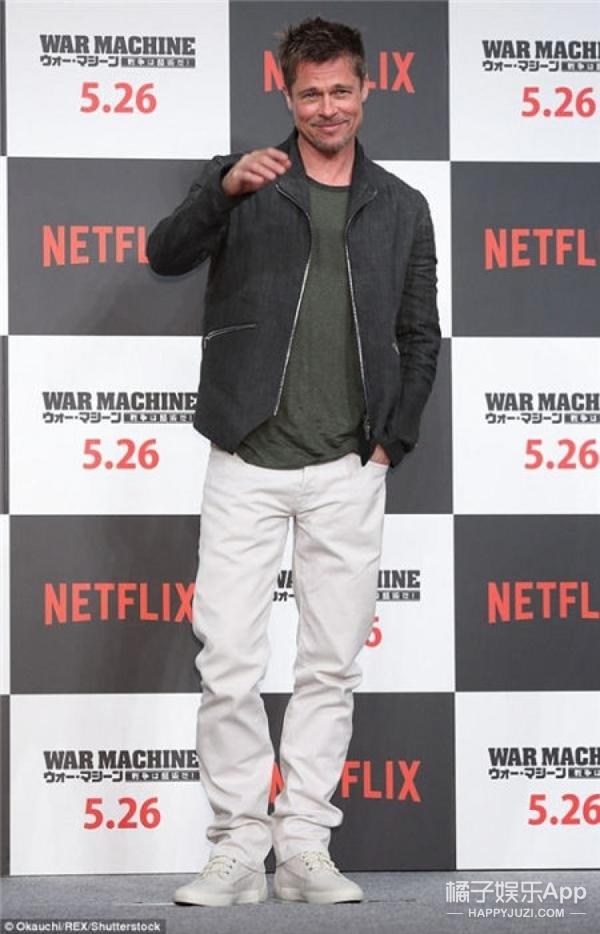 53岁男神颜值逆龄20岁,布莱德彼特告诉你瘦才是硬道理!