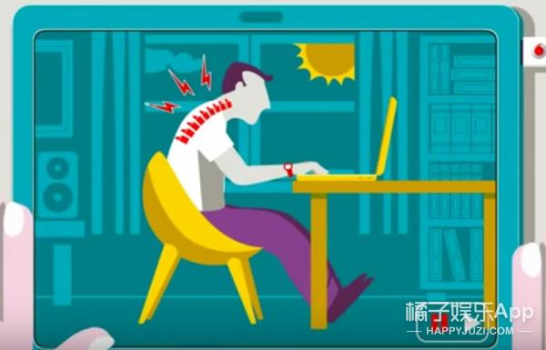 学会调节使用电脑时的姿势,你就不会那么累啦!