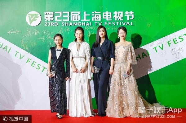 刘涛扮女神、蒋欣秒变女王范儿,《欢乐颂》二美的黑白配玩得真高端!