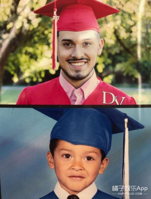 高中毕业典礼上,这个老爸的皮卡丘领带成为了全场焦点
