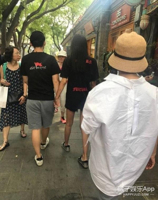 网友偶遇孙怡、董子健,比孕肚更吸引人的是准妈妈的大长腿!