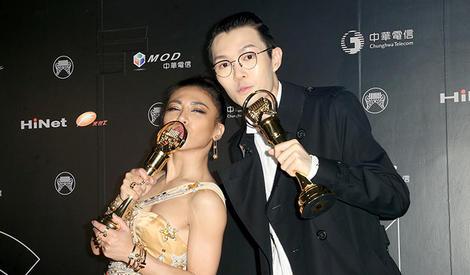 金曲奖颁奖:方大同夺歌王艾怡良封后 五月天获最佳国语专辑