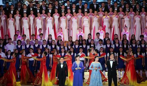 香港回归20周年晚会群星闪耀 莫文蔚献唱茉莉花