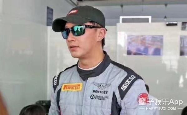 韩庚参加超跑比赛突发意外,车辆损毁严重人并无大碍