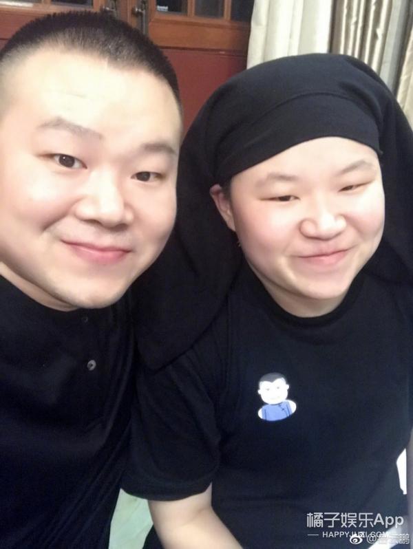 """小岳岳终于找到失散多年的""""妹妹"""",两人站一起完全脸盲!"""