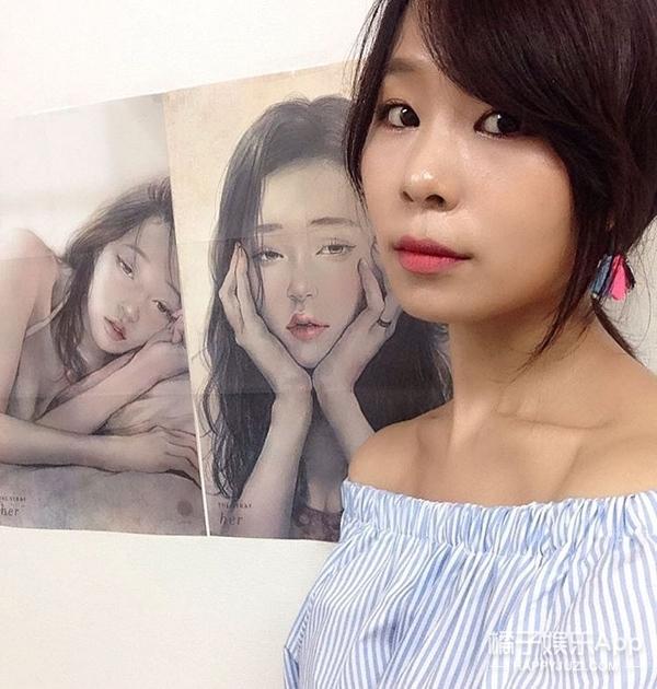 韩国插画师笔下的亲密爱人,真的全中了!