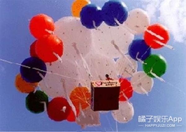 现实版的飞屋环游记,但这个气球大叔结局有点惨