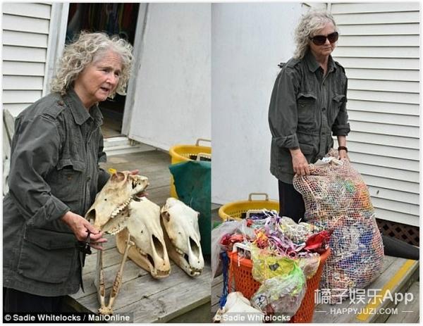 她在加拿大孤岛上独自生活40年,和400多匹马350多种鸟