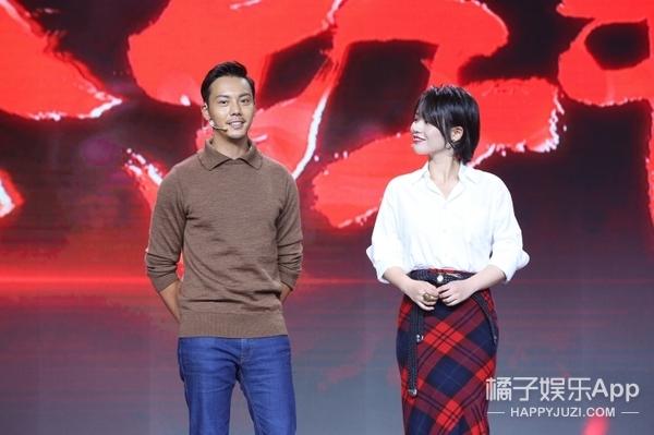 马思纯《橙红年代》化身女警,发布会一袭红裙转型御姐范!
