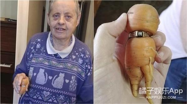 丢了13年的婚戒竟然在一根胡萝卜上被找到了!