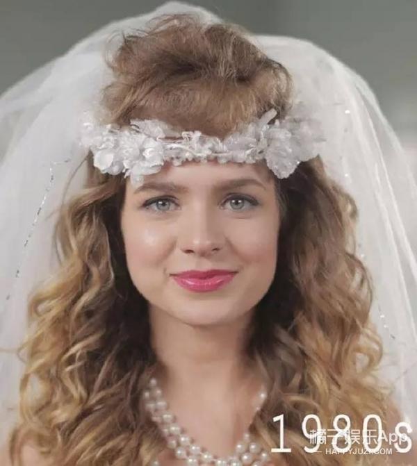 每个年代的新娘都爱美,快来围观这半个世纪的新娘发型变化