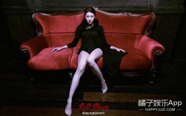 宣美:腿精不是她还有谁,2米大长腿配上无敌颜杀
